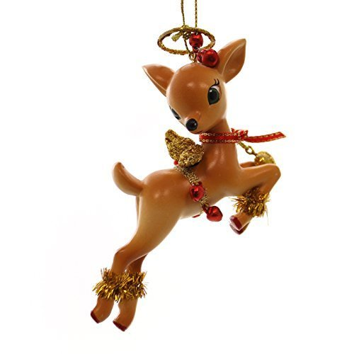 Holiday Ornaments JOLLY REINDEER TALES ORNAMENT Resin Christmas 4045466 Cupid
