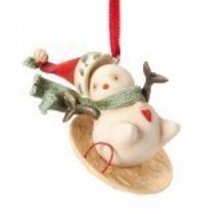Enesco Heart of Christmas Gift Snowman on Sled Ornament, 3.35-Inch [Misc.] - $15.84