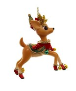 Holiday Ornaments JOLLY REINDEER TALES ORNAMENT Resin Christmas 4045466 ... - $19.79