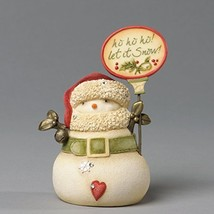 Heart Of Christmas Ho Ho Ho Let It Snow! Mini Snowman Figurine [Kitchen]