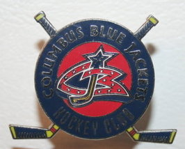 NHL Licensed Pin Columbus Blue Jackets Hockey Club Pin - $5.00