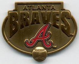 MLB Licensed Pin Atlanta Braves Baseball Pewter PinMLB Licen - $5.00