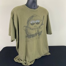 South Park Eric Cartman Police Officer Authority T Shirt 2009 Green Size... - $26.99