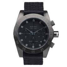 Electric DW01 All Black Mens Chronograph Quartz Watch Nylon Strap EW0030... - $3.461,64 MXN