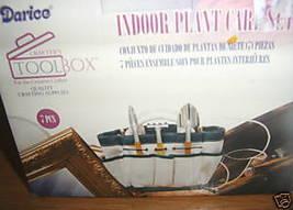 Indoor Plant Care Set 7 PC canvas tote Craft Pruner Aerator Spade Trowel... - £7.26 GBP