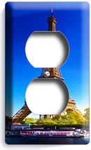 Eiffel Tower Paris Love Of City Duplex Power Outlet Wall Plate Cover Home Decor - $8.99