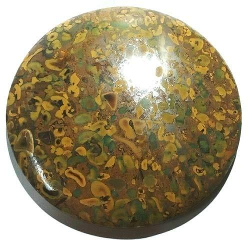 Primary image for Fruit Jasper Beautiful Round Shape Genuine Agate round Cabochon 5 Inch Diameter