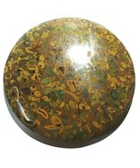 Fruit Jasper Beautiful Round Shape Genuine Agate round Cabochon 5 Inch D... - $35.00