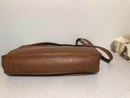 Vintage COACH L6C- 5180 Metropolitan Leather Messenger Attache Tan image 7
