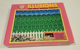 Magic eye illusions 100 piece jigsaw puzzles horse - $12.86