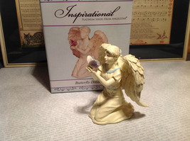 Butterfly Dreams by Angel Star Resin Angel Figurine New in Box - $39.99