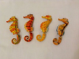 Funny Wiggly Seahorse 3D Magnet, choice of color