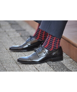 Red Checkered Socks for a suit - $8.40