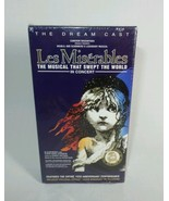 VINTAGE VHS LES MISERABLES MUSICAL CONCERT 10TH ANNIVERSARY ISBN 0-8001-... - $9.79