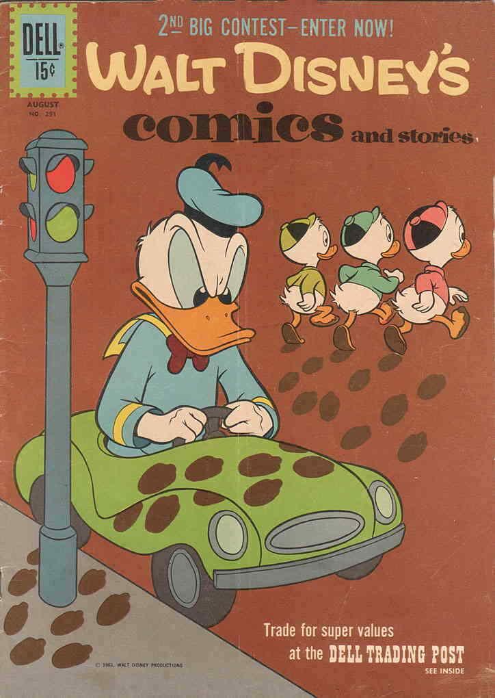 Walt Disney's Comics and Stories #251 VG; Dell | low grade comic - save on shipp
