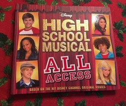 Disney High School Musical All Access Hardcover Book 2007 - $8.75