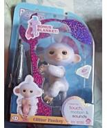 Fingerlings Baby Monkey Sugar with Bonus Blanket - $18.69