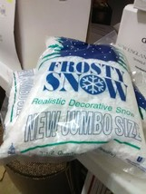 2 3 1/2 Quart Bags of Frosty Snow for Christmas Village - $9.15