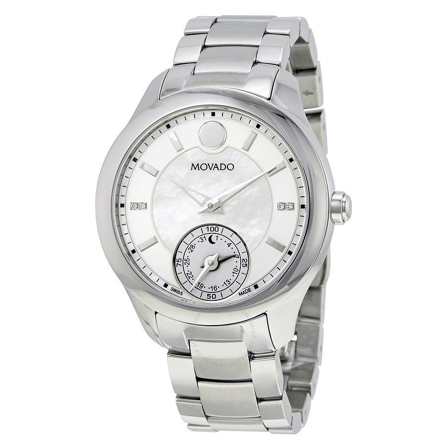 Primary image for BRAND NEW MOVADO 0660004 MOTION WHITE MOTHER OF PEARL DIAL WOMENS SMART WATCH