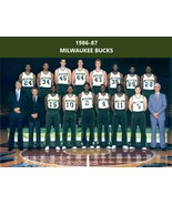 1986-87 MILWAUKEE BUCKS 8X10 PHOTO BASKETBALL PICTURE NBA - $3.95