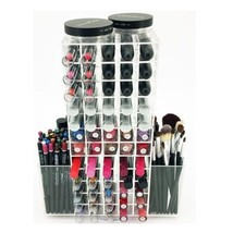 Makeup Cosmetic Organizer Case Storage Box Jewelry Clear Display Beauty ... - $97.48