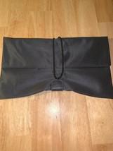 MAC Mariza 3 Envelope Makeup Bag Dark Grey Brand New - $27.26