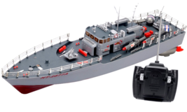 RC Missile Warship Radio Remote Control HT-2877 RTR Ship Battleship Cruiser - $55.54