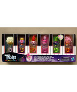 TROLLS WORLD TOUR Tiny Dancers Find Your Beat 6 Figures & Rings NEW Glow... - $12.49
