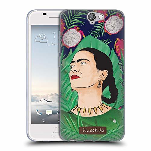 Official Frida Kahlo Tropical Portrait 3 Soft Gel Case Compatible for HTC One A9
