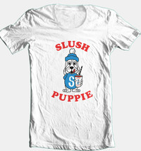 Slush Puppy T shirt retro 80s vintage 100% cotton graphic printed  tee image 1