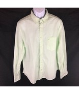 Nautica Men's Green Button Front Shirt NWT L - $34.64