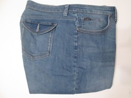 Women's Lee Jeans Size 18 M Boot Cut Stretch # S4 - $24.99