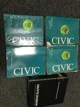 2006 2007 2008 Honda Civic Service Shop Repair Manual Set W ETM OEM + Pa... - $108.85