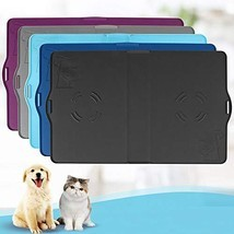 "IMPAWFAN Silicone Pet Feeding Mat for Dogs and Cats, 23""x15"" Waterproof ... - $22.00"