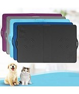 "IMPAWFAN Silicone Pet Feeding Mat for Dogs and Cats, 23""x15"" Waterproof ... - $25.74 CAD"