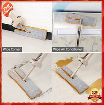 DOUBLE SIDED LAZY MOP WITH SELF-WRINGING ABILITY NEW ARRIVALS PROMOTION ... - $38.99