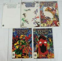 Zero Hour: Crisis in Time #0-4 Lot of 5 Comics DC Comics - C5005 - $6.99
