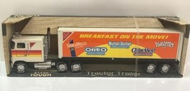 Nylint Tractor Trailer Steel Tough Vintage Toy Breakfast on the Move 911... - $140.24
