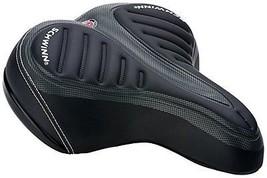 Schwinn Cruiser Bike Bicycle Seat Pillow Top Extra Gel Comfort Saddle Sports   - $29.77