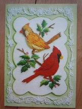 Vintage Happy Anniversary Cardinals Sunshine Greeting Card - $4.99