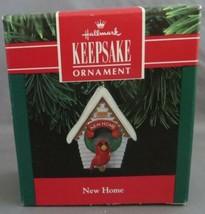 Vintage HALLMARK 1991 New Home Cardinal Christmas Ornament - $4.00
