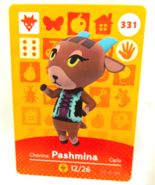 331 - Pashmina - Series 4 Animal Crossing Villager Amiibo Card - $19.99