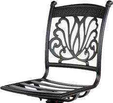 Patio furniture Las Vegas BarStool Arm-Less outdoor cast Aluminum Sunbrella seat image 3