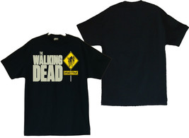 "The Walking Dead ""DEAD ZONE"" Men's T-Shirts (S / M / L / XL) (2XL & 3XL) - $19.80+"