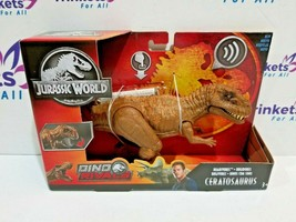 Jurassic World Dino Rivals Roarivores Ceratosaurus Figure NEW - $25.99