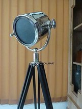 NauticalMart Marine Hollywood Searchlight Tripod Floor Lamp   - $199.00