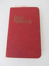 Vintage 1946 Daily Reminder Calendar Book Standard Diary Company MI62 - $12.86