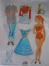 Childhood Treasures Teen Girl Paper Doll - $5.99
