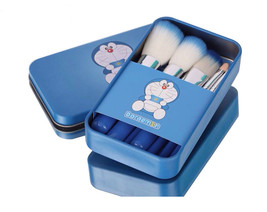 Doraemon 7-Piece Cosmetics Travel Brush Set Makeup Brushes - $28.00