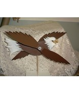 Handcrafted Whirligig American Eagle - $58.00